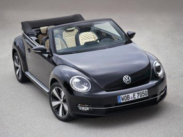 Image of VW Beetle Turbo Convertible