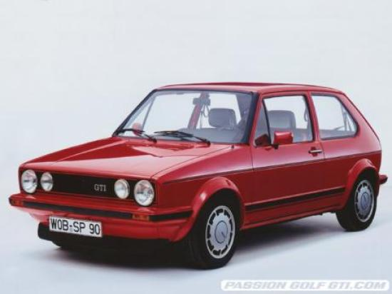 Image of VW Golf GTI 1.8