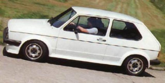 Image of VW Golf GTI 16S