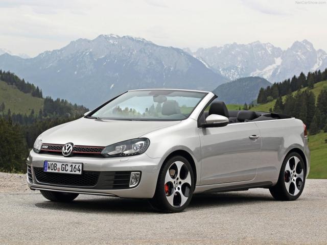 Image of VW Golf GTI Cabriolet