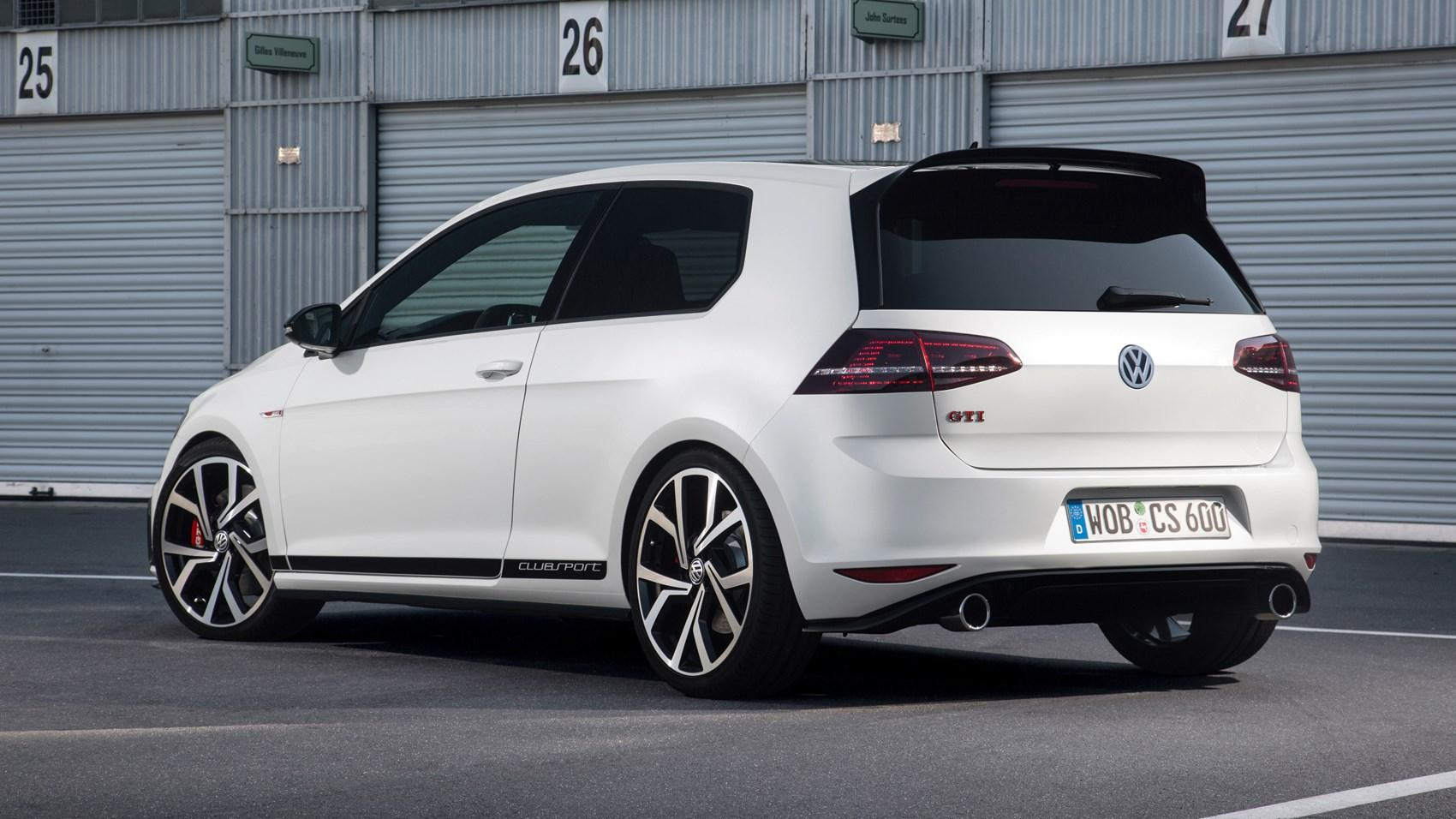 vw golf gti clubsport mk vii laptimes specs performance. Black Bedroom Furniture Sets. Home Design Ideas