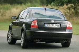 Photo of VW Passat W8 B5