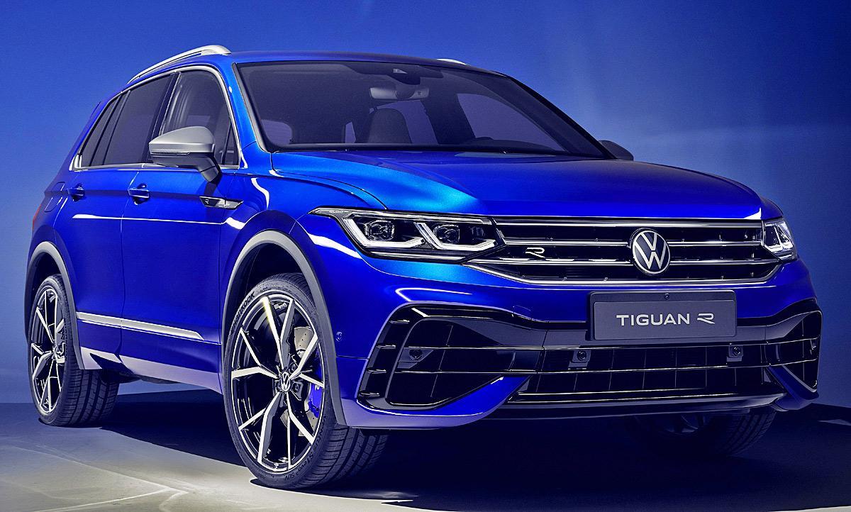 VW Tiguan R specs, performance data - FastestLaps.com