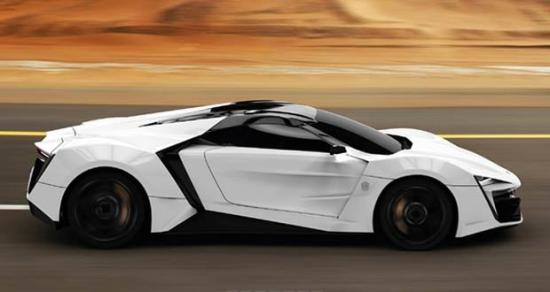 Image of W Motors LykanHypersport