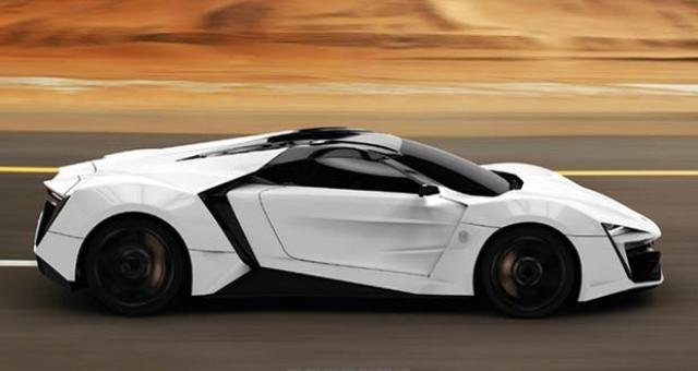 Image of W Motors LykanHypersport